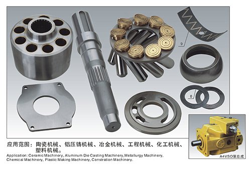 Rexroth A4VSO hydraulic spare parts