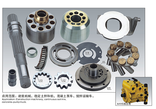 Rexroth A4VG Hydraulic Spare Parts