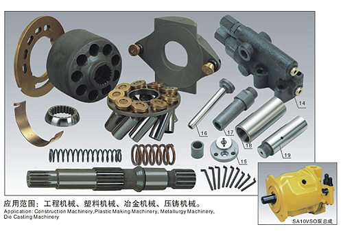 Rexroth A10VSO Hydraulic Spare Parts